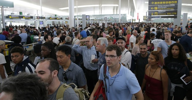 More long lines at Barcelona airport as staff strikes again