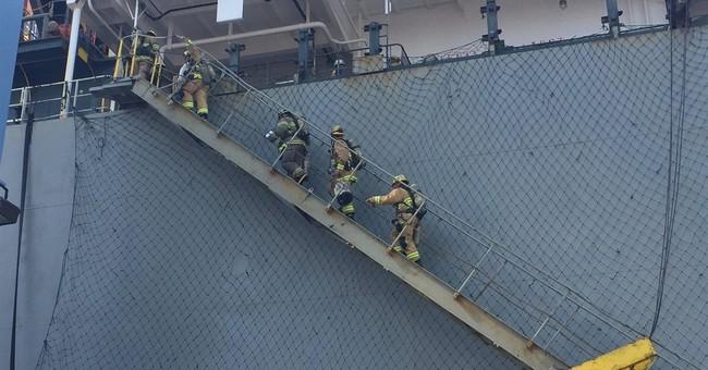 13 injured in hazardous materials leak at California dock