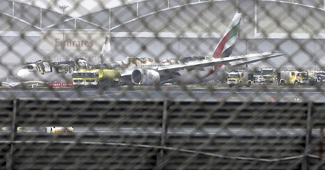 Report: No mechanical issues before Emirates crash landing