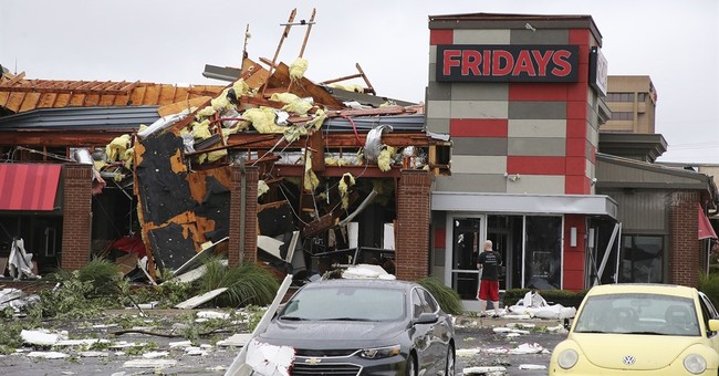 The Latest: 30 treated at St. Francis Hospital after tornado
