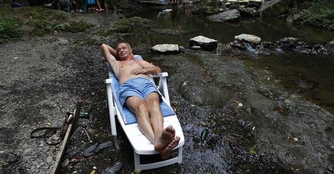 Storms, heavy winds hit Balkans after blistering heat wave