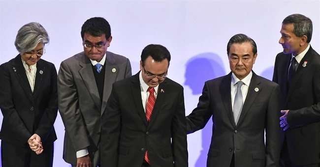 The Latest: US says South China Sea talks will be a key test