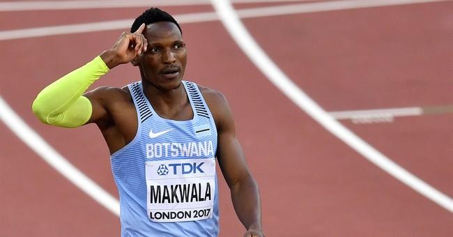 Makwala to run alone in 200 heat at worlds