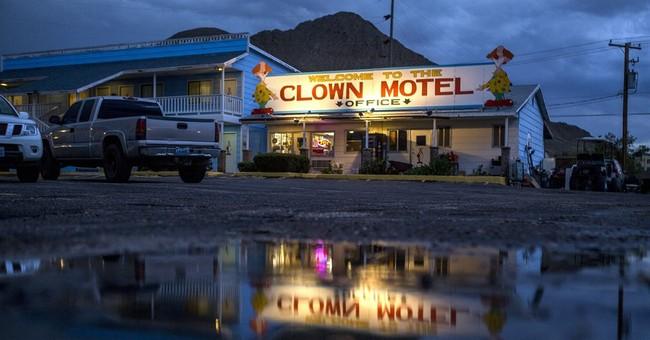 No clowning around: Nevada clown motel for sale