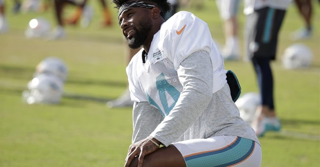 Official: Dolphins' Landry investigated for possible battery