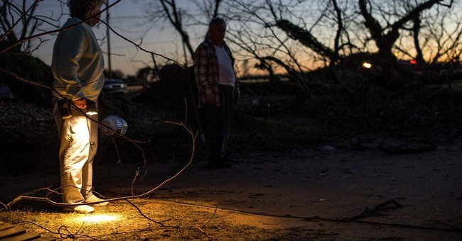 The Latest: 2 Louisiana tornadoes confirmed, homes damaged