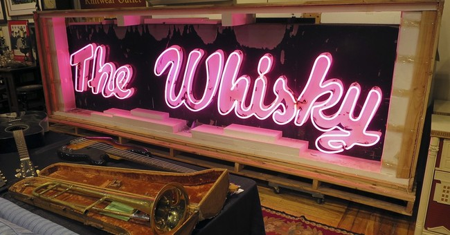 Neon marquee from Whisky A Go Go sign sells for $48,300