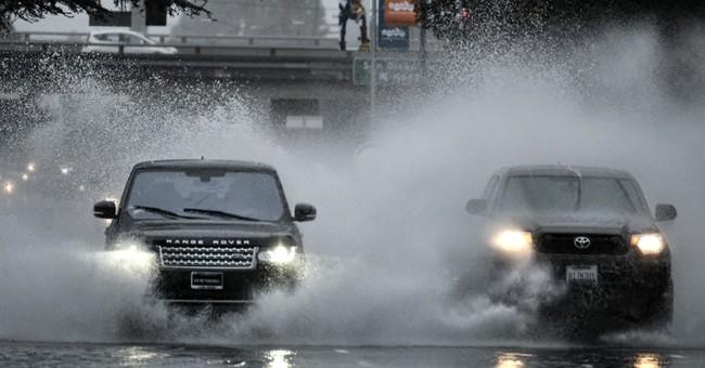 Latest: Flood warnings as California deluge intensifies
