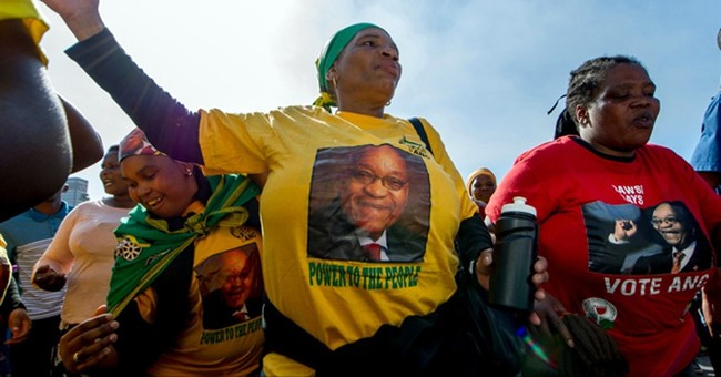 The Latest: South Africa's Zuma happy after surviving vote