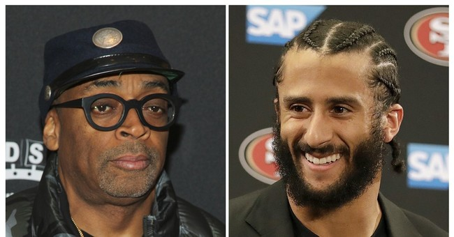Spike Lee promotes NYC rally for Colin Kaepernick