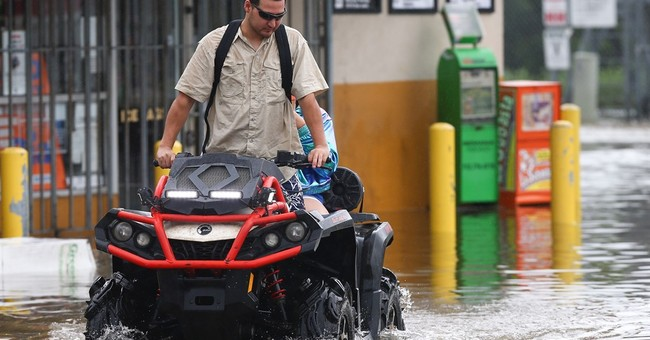 Torrential rains bring widespread flooding to Houston area