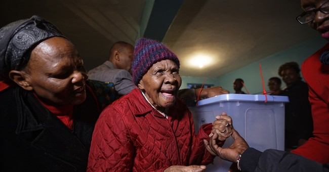 102-year-old Kenyan voter wouldn't dream of missing election