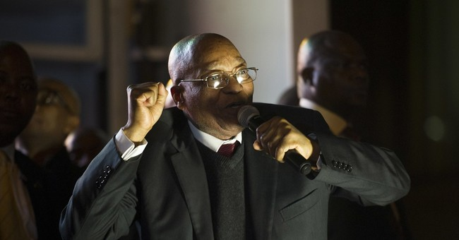 South Africa's main opposition wants to dissolve parliament