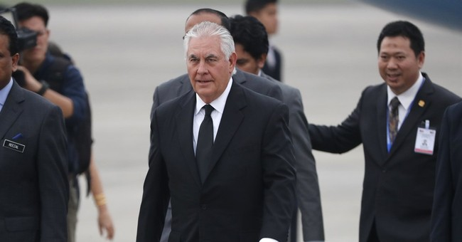 The Latest: Tillerson visits Thailand and Malaysia