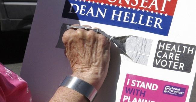Primary complicates GOP Sen. Heller's Nevada re-election bid