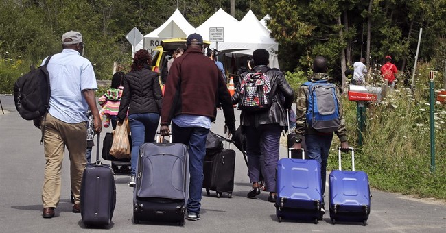The Latest: Canada sends soldiers to migrant border crossing