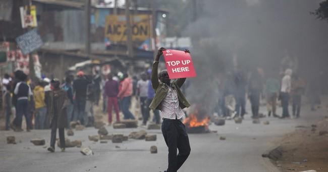 Uhuru leading in Kenyan polls, Raila blames