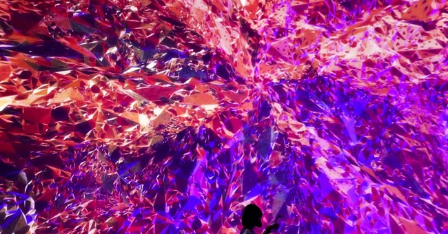 Image of Asia: Taking a selfie at Beijing art installation