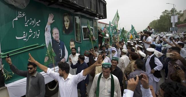 Deposed Pakistani PM begins 2 days of rallies