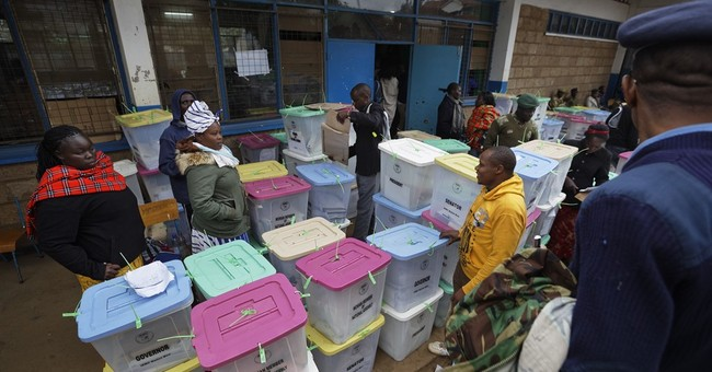 The Latest: Attackers gunned down at Kenya polling center