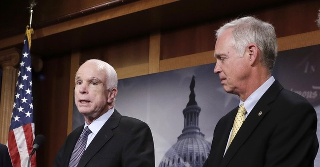 GOP senator suggests brain tumor affected McCain vote