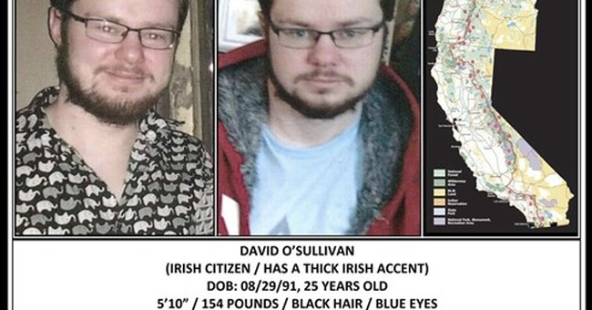 Irish hiker missing on Pacific Crest Trail in California