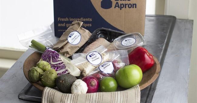 Blue Apron revenue beats forecast, but hurt by plant delays