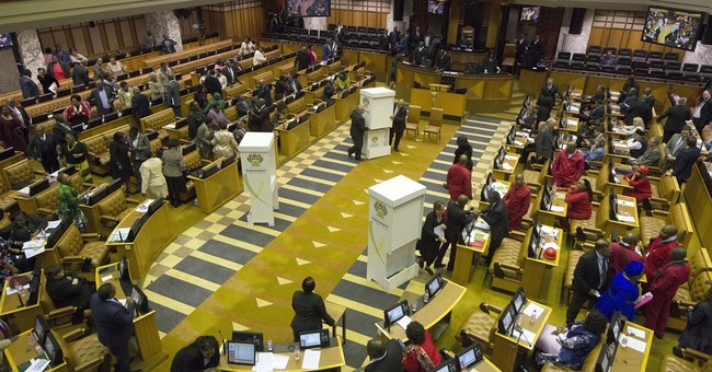 South Africa's opposition moves to dissolve parliament
