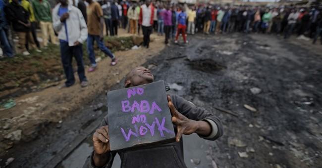 The Latest: US urges Kenya's candidates not to use violence