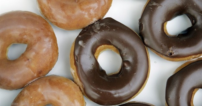 Krispy Kreme marks eclipse with chocolate glazed doughnuts