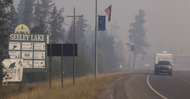 Residents of smoke-choked Montana town advised to leave