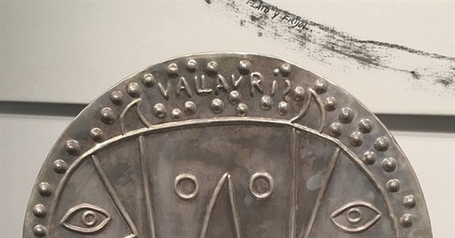 Santa Fe show features 2 of Picasso's rare silver platters