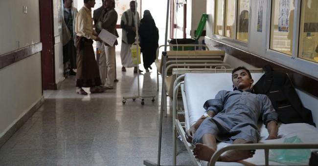 Yemen's civil war turns country into cholera breeding ground