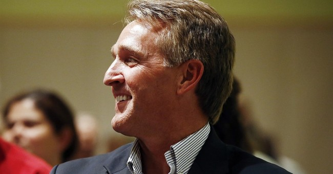 Sen. Jeff Flake working Arizona as he faces tough 2018 race