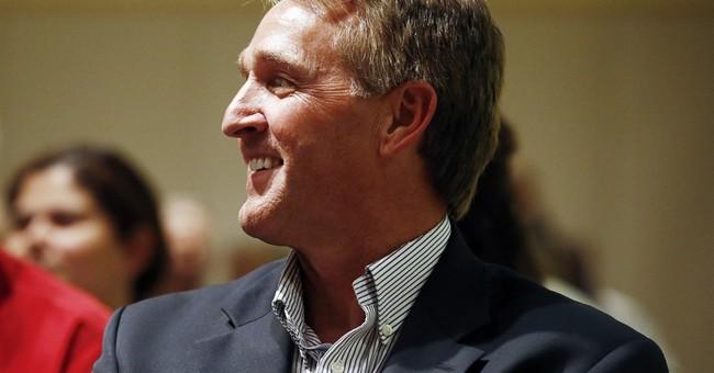 Sen. Jeff Flake working Arizona as he faces tough 2018 race