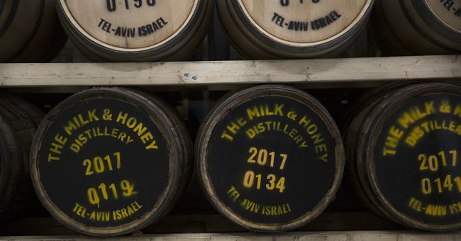 Israel, the land of milk and honey _ and now whiskey?