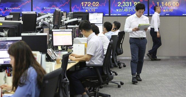 North Korea tensions continue to weigh on global stocks