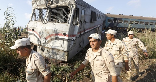 The Latest: Death toll in Egypt train collision rises to 40