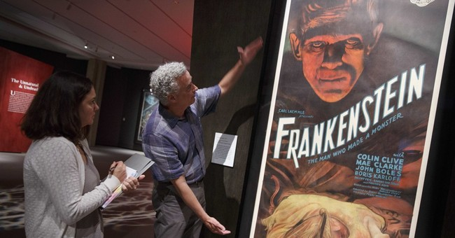 Metallica guitarist's monster movie posters go on display