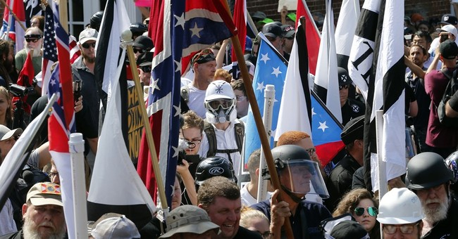 Armed militia, clergy, more unite against white nationalists