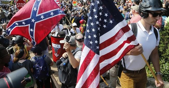 White House scrambles to explain Trump's response to clashes