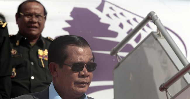 Cambodian leader says border crisis with Laos averted