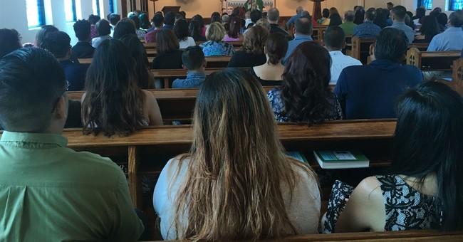 Devoutly Catholic Guam celebrates Mass amid N. Korea threat