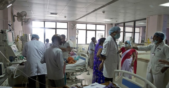 35 children die in north Indian hospital in 3 days