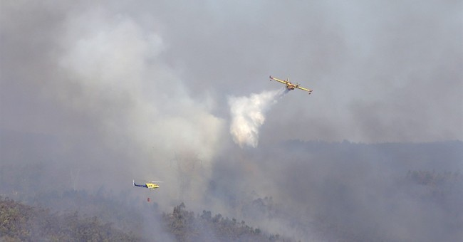 Portugal fights record number of wildfires for 1 day in 2017