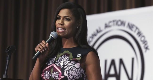White House's Omarosa Manigault jeered during panel talk