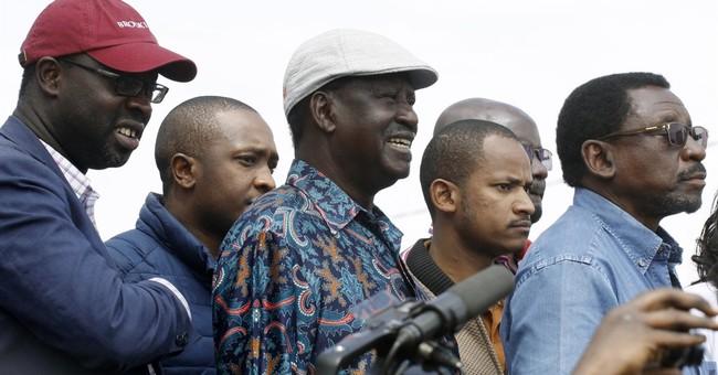 Kenyan opposition leader urges followers to skip work Monday