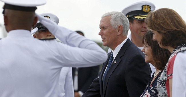VP Pence says US won't stand by as Venezuela 'crumbles'