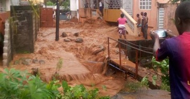 The Latest: Official: 200 dead in Sierra Leone mudslides