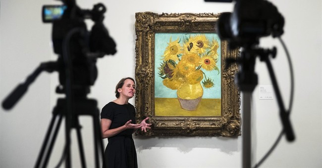 Van Gogh 'Sunflowers' reunited online